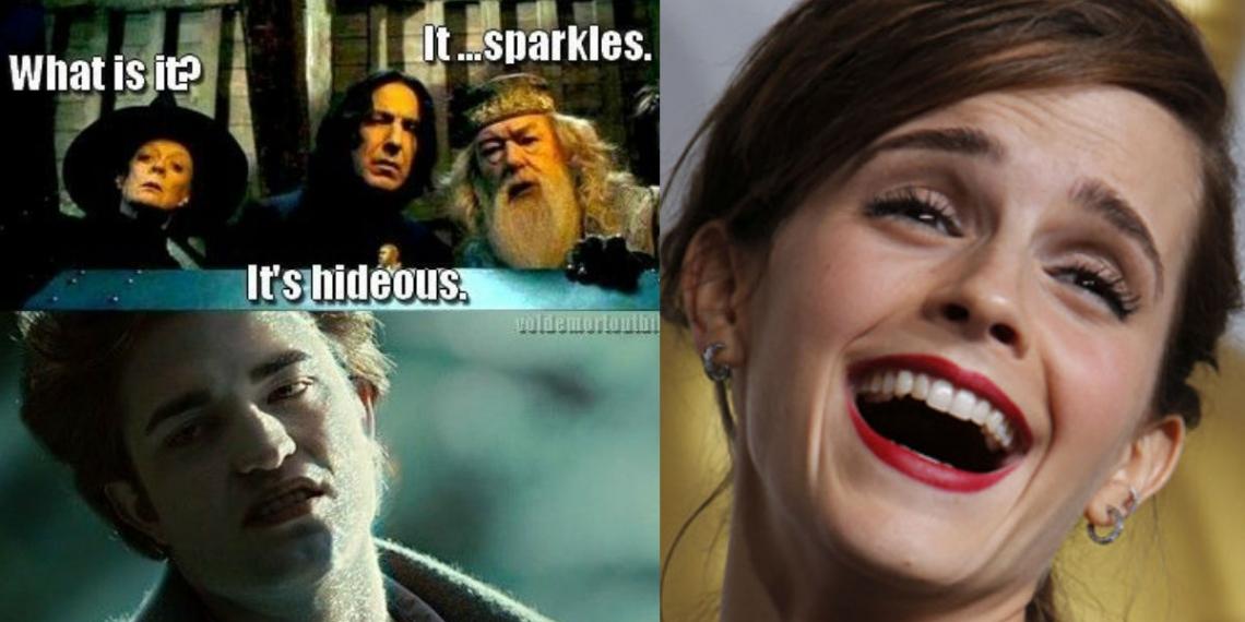 Harry Potter Vs Twilight Memes