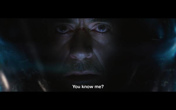 Avengers: Infinity War Tony Stark