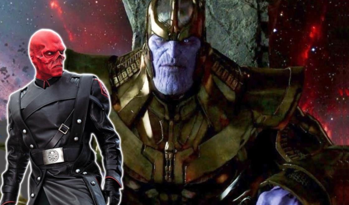 Avengers: Infinity War Concept Art Red Skull Gollum