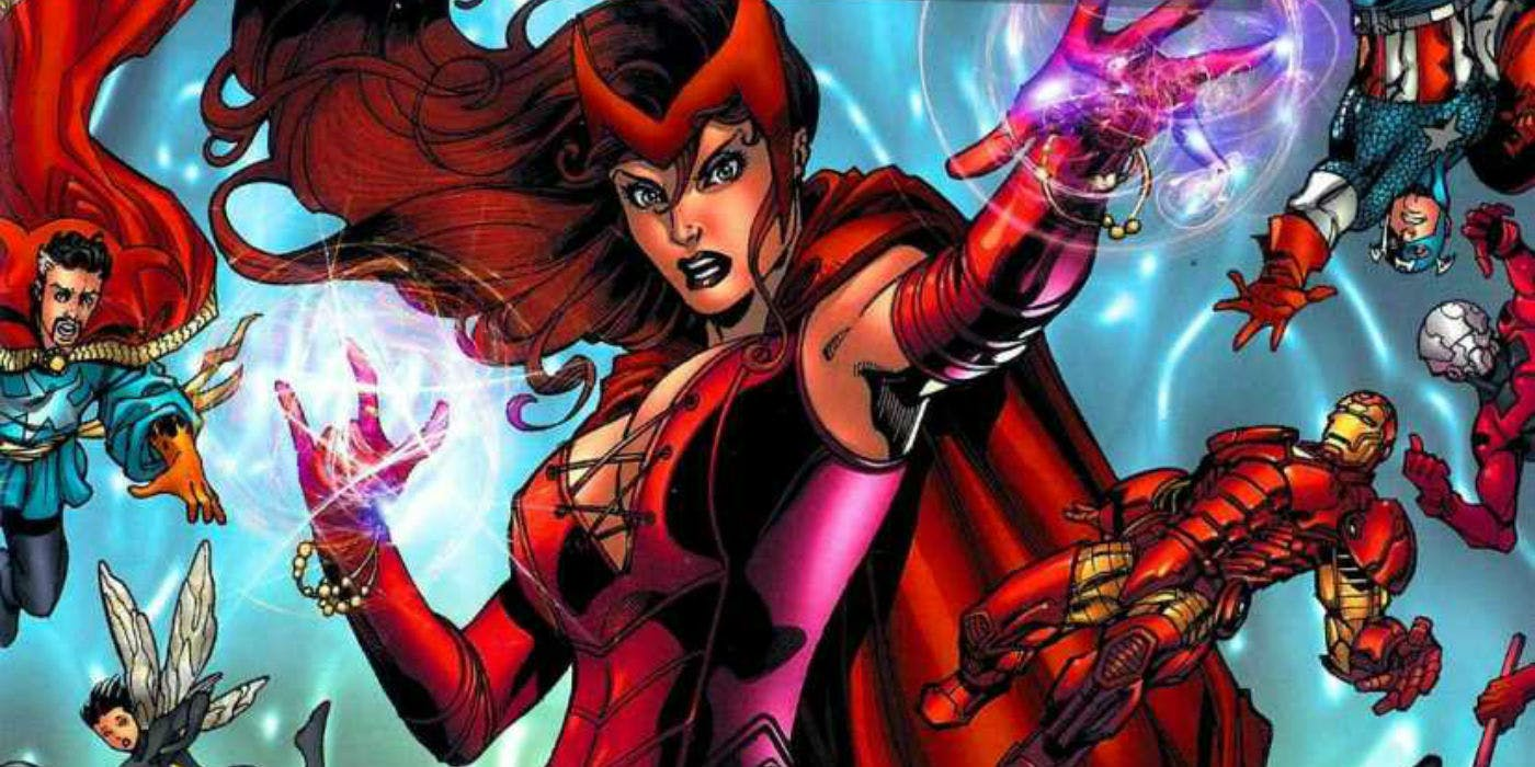 Abilities of Scarlet Witch Thanos