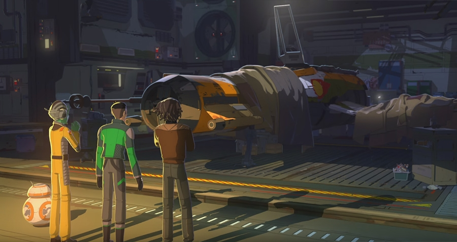 Photo of Disney Releases First Trailer for Highly Anticipated 'Star Wars: Resistance'