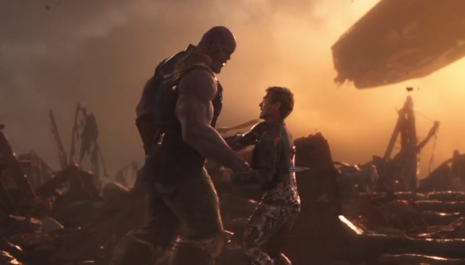 Avengers 4 Tony Stark Thanos