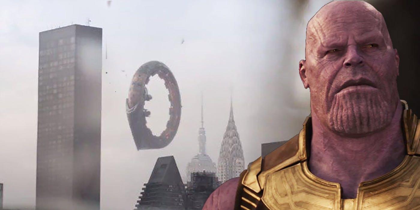 Avengers: Infinity War Ebony Maw's Q Ship