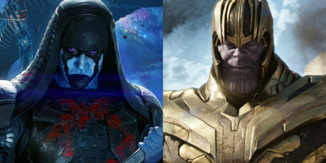Ronan Vs Thanos