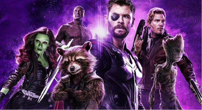 Avengers: Endgame Guardians of the Galaxy Vol. 3