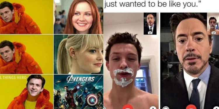 Tom Holland Spider-Man Memes