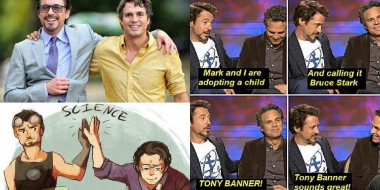 Tony Stark And Bruce Banner Memes