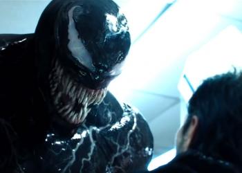 Venom vs Riot fight scene