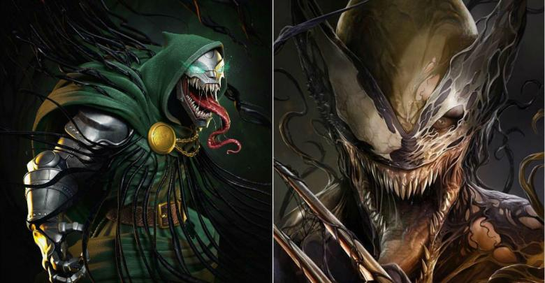 Venom-ized Superheroes