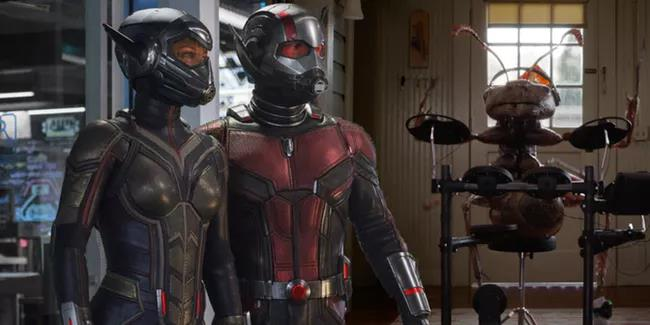 Ant-Man and the Wasp Thanos Snap