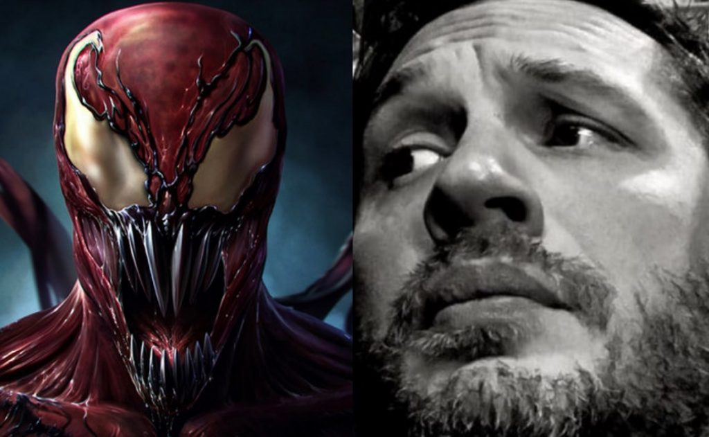 Venom Mid Credits Scene, venom post credits scene, carnage scene, venom and carnage scene