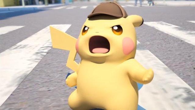 Detective Pikachu Trailer Pokemon