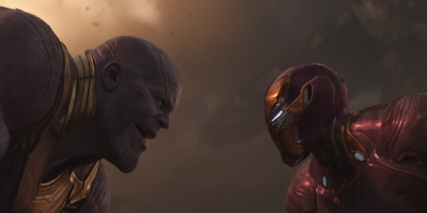 Photo of Tony Stark Kisses Thanos in This Bizarre Avengers: Endgame Video