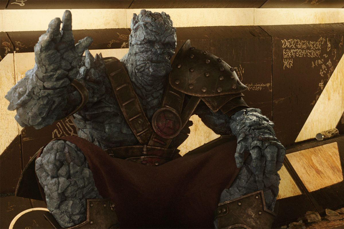 Korg Avengers 4 Fan Theory Korg Survived the Snap