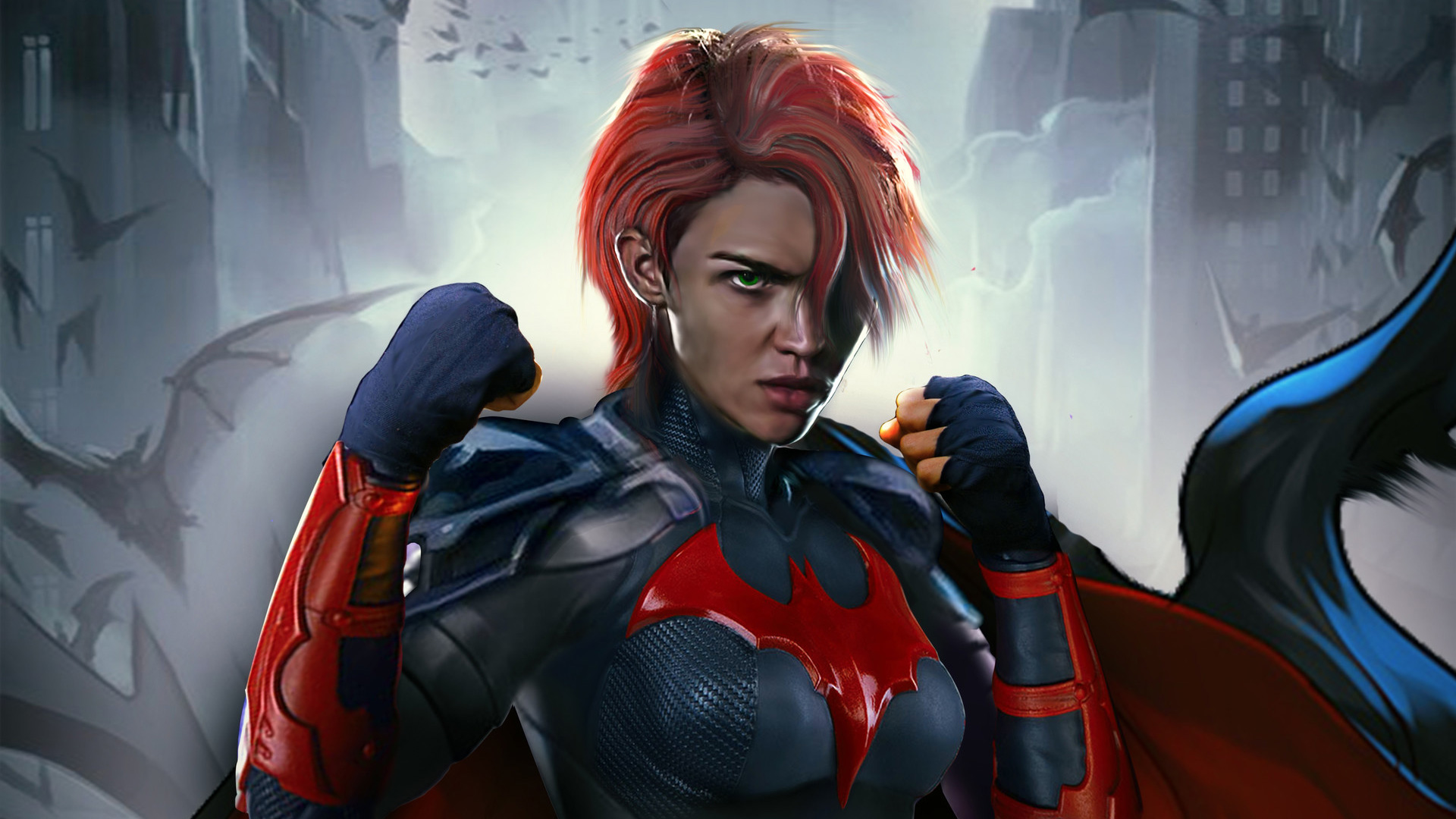 Ruby Rose Batwoman Suit Arrow Elseworlds