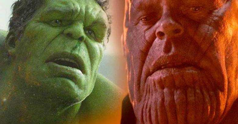 Deleted Hulk vs. Thanos Fight
