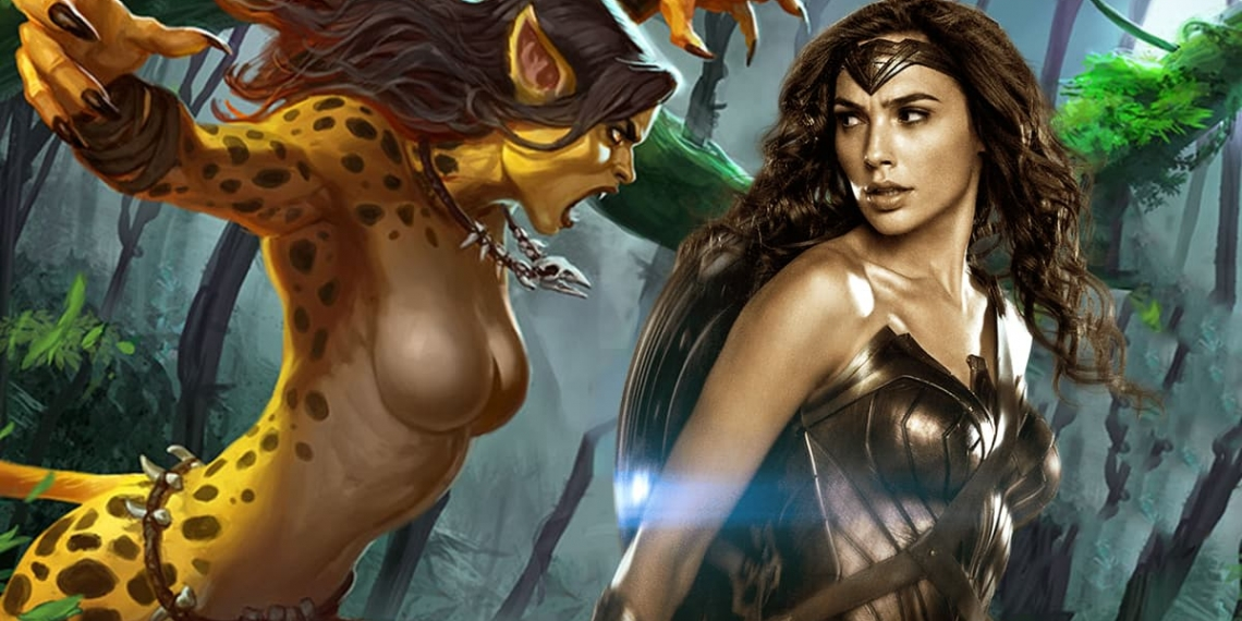 Wonder Woman cheetah origin
