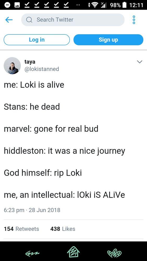 Loki's Death Memes