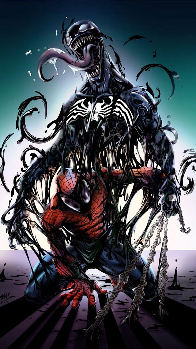 Spider-Man Vs Venom Fanart