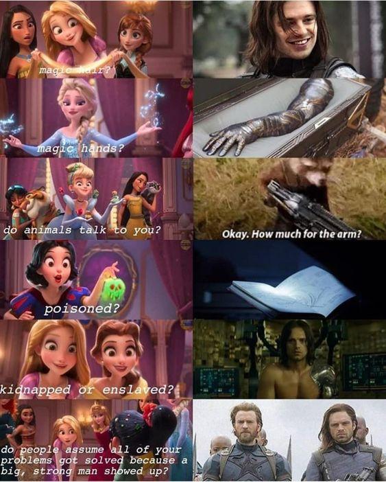 Marvel Character Memes