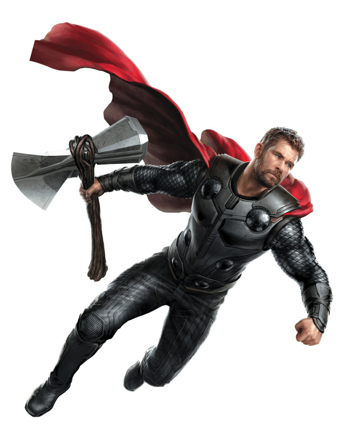 Avengers 4 Thor Concept Art God of Thunder