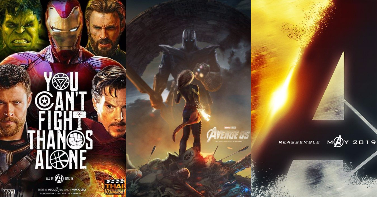 Photo of 30 Fantastic Avengers Fanmade Posters That Will Blow Your Senses