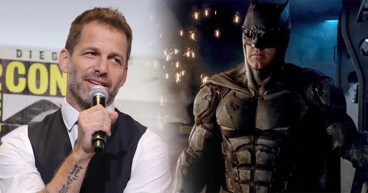 Photo of Zack Snyder Explains Why Batman Wore Glasses In The Justice League
