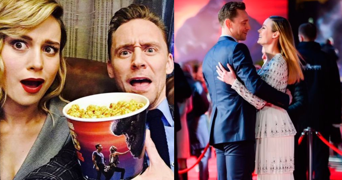 Photo of 33 Strikingly Awesome Images of Brie Larson And Tom Hiddleston Together