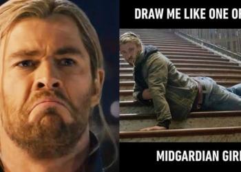 Chris Hemsworth Memes
