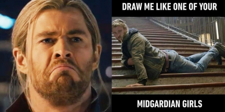 27 Funniest Chris Hemsworth Memes That Will Have You On Roll