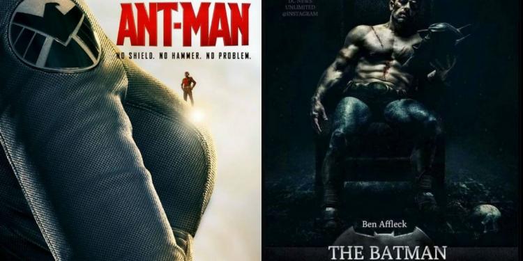 Fanmade Superhero Posters