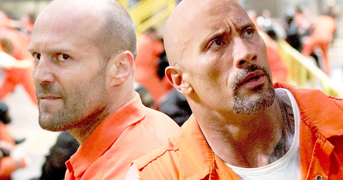 Photo of The Rock Shares First Set Photo From 'Hobbs And Shaw'