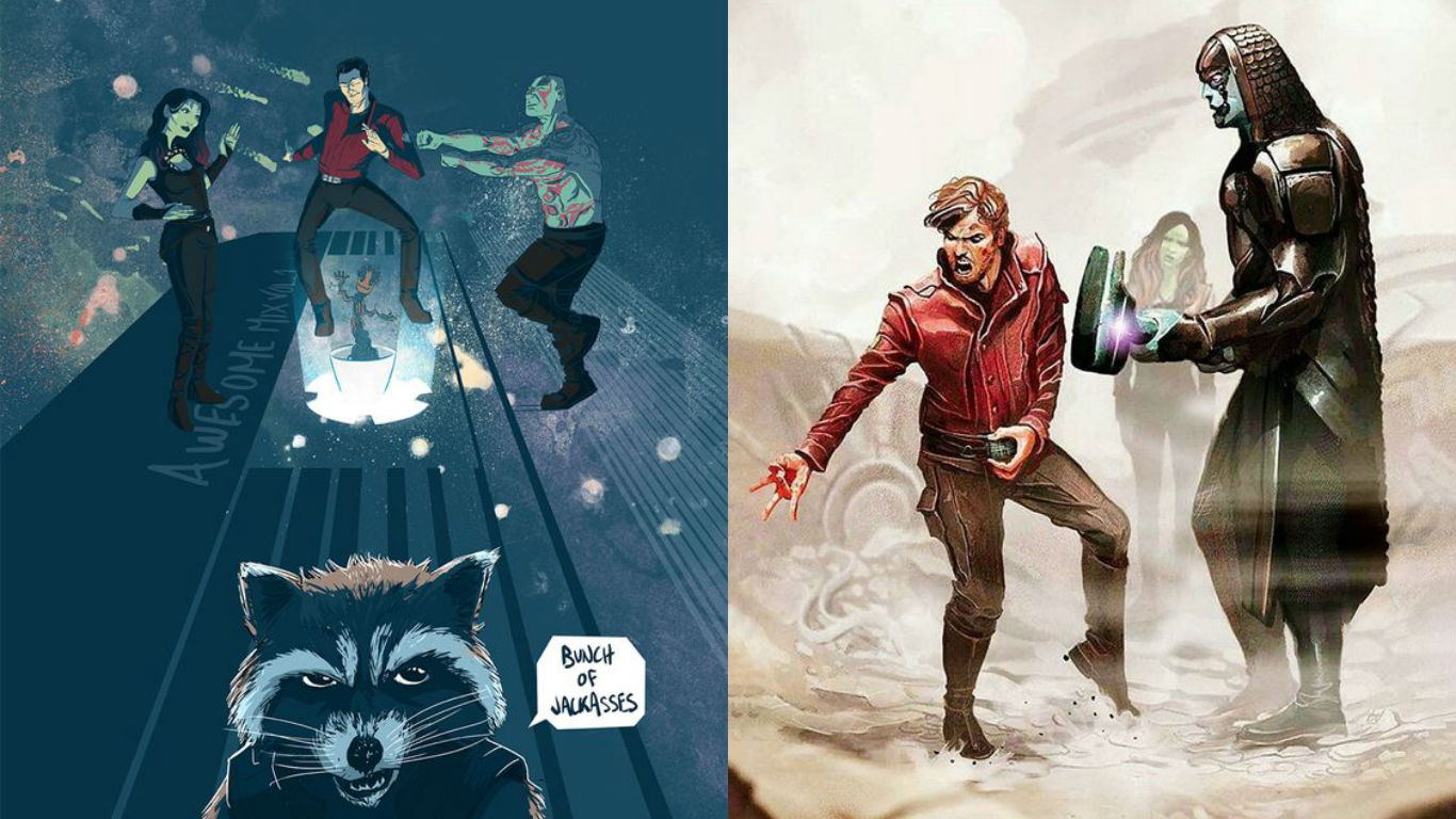 Photo of 25 Awesome Guardians of The Galaxy Fanart Images
