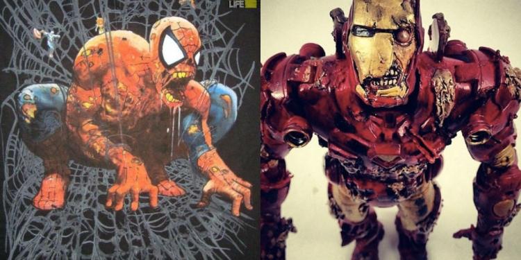 Marvel Superheroes Reimagined As Zombies