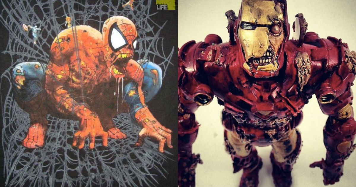 Photo of 27 Marvel Superheroes Reimagined As Zombies That Will Blow Your Mind