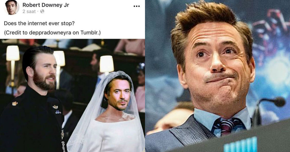 Photo of 30 Times Facebook Posts of Robert Downey Jr. Proved How Crazy He Is
