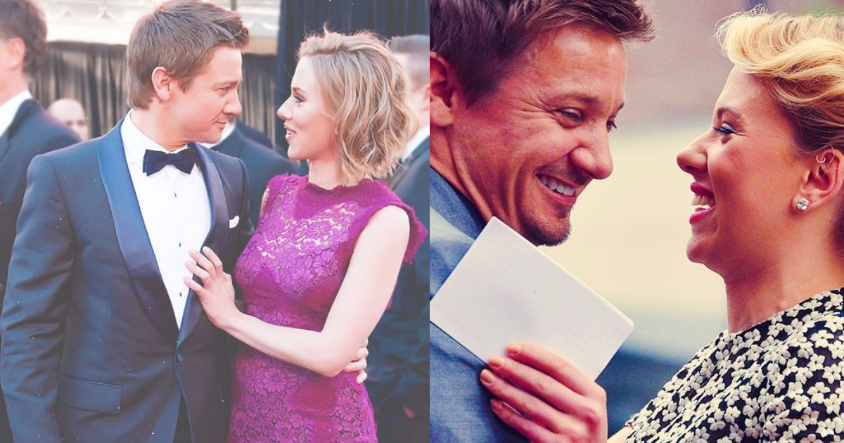 Photo of 33 Stunningly Adorable Images of Scarlett Johansson And Jeremy Renner Together