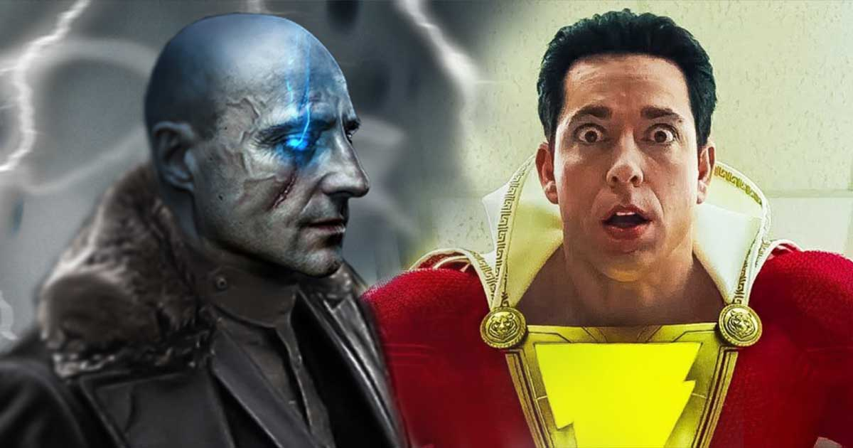 Photo of The First Look at The Powered Up 'Shazam!' Villain Dr. Sivana Revealed