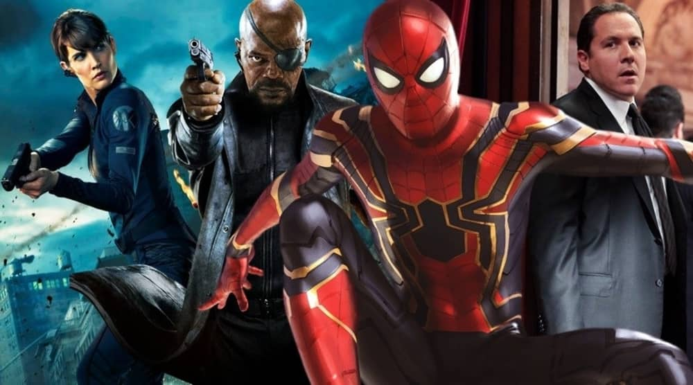 Photo of Spider-Man: Far From Home – Fury & Hill Unite With Happy in Set Photos