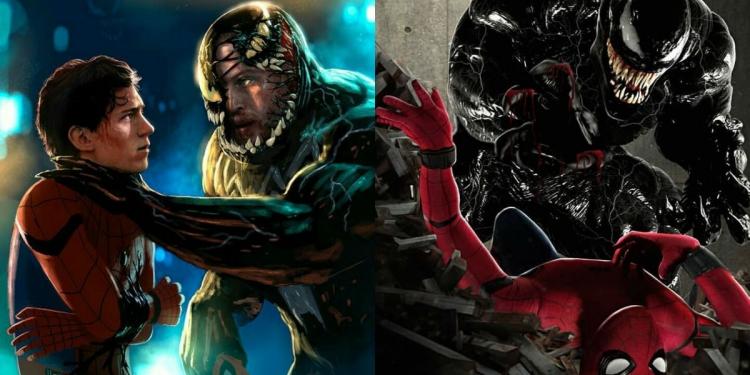 Spider-Man Vs Venom Fanart