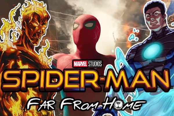 Spider-Man: Far From Home Tom Holland The Elementals Thanos