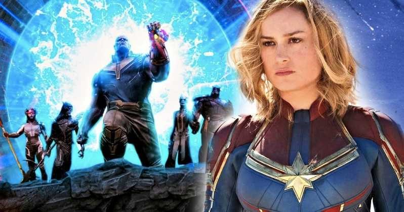 Photo of Will Captain Marvel Have a Thanos and Black Order Appearance?