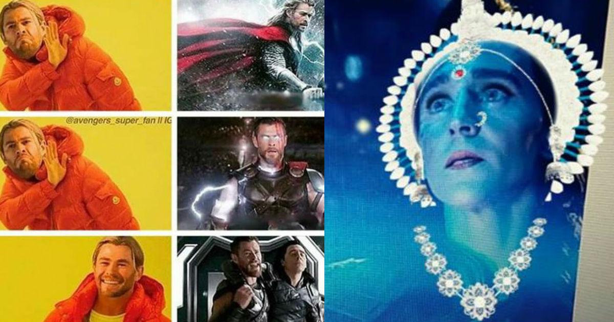 Thor And Loki's ''Get Help!'' Memes