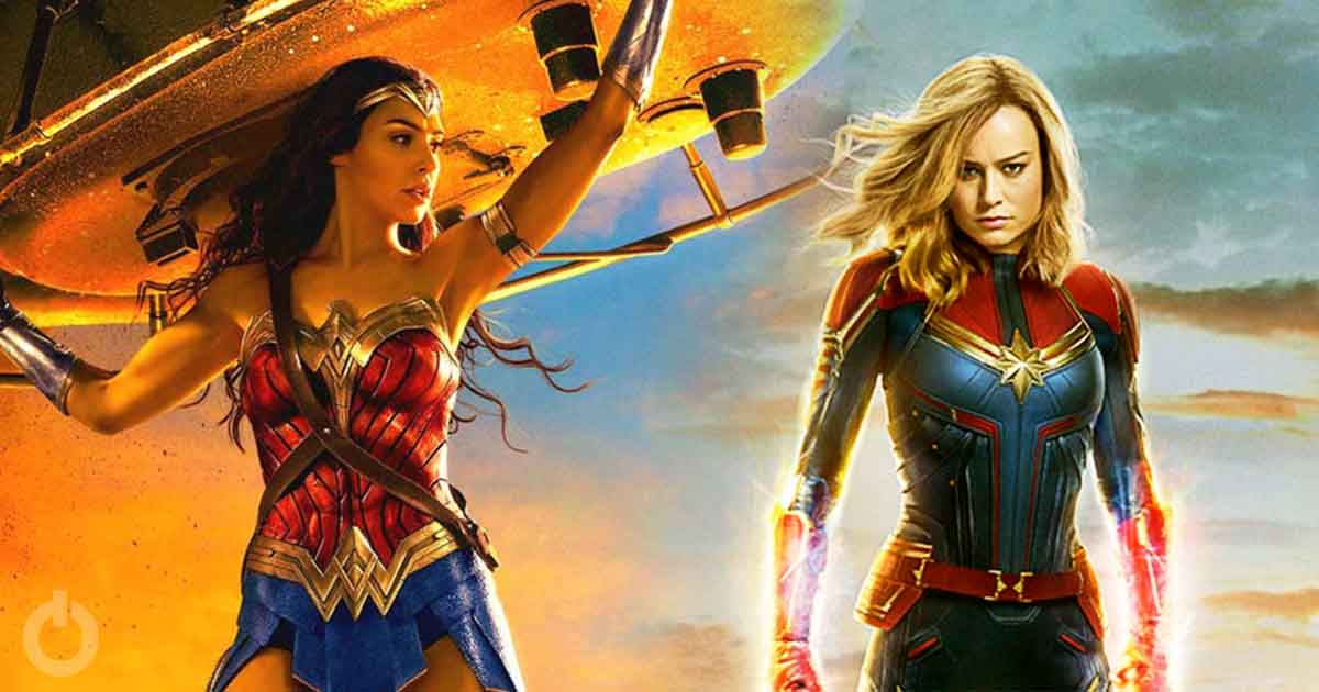 Photo of Captain Marvel aka Brie Larson Calls Wonder Woman Her Favorite Female Superhero