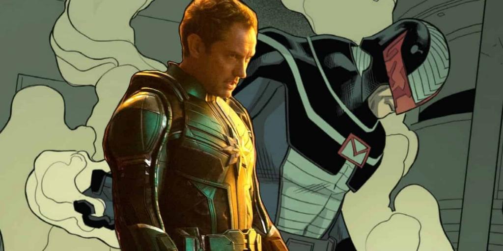 Captain Marvel Mar-Vell Jude Law