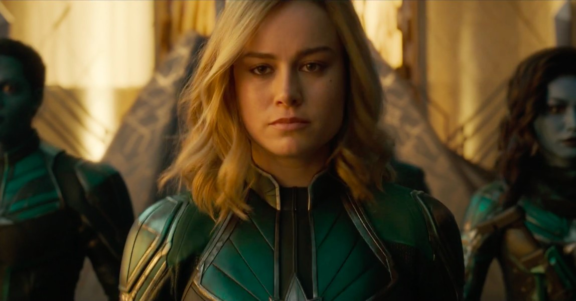 Captain Marvel Set Photo