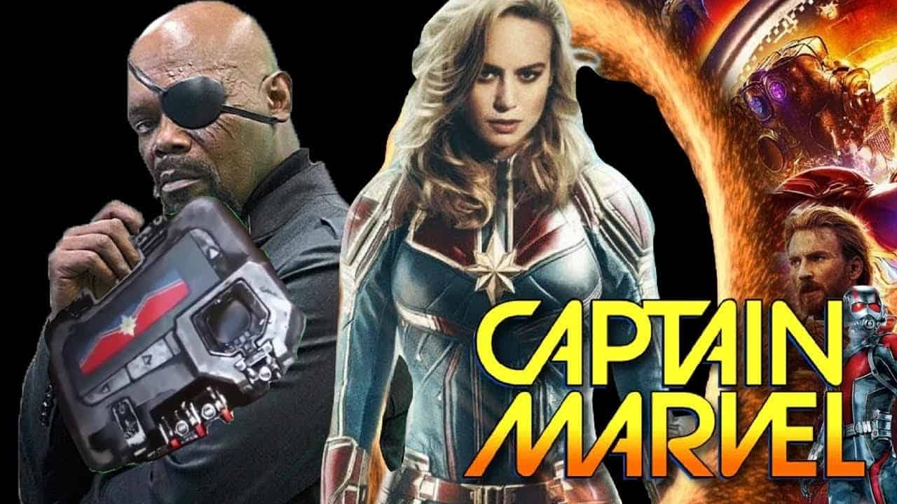 Captain Marvel Nick Fury MCU