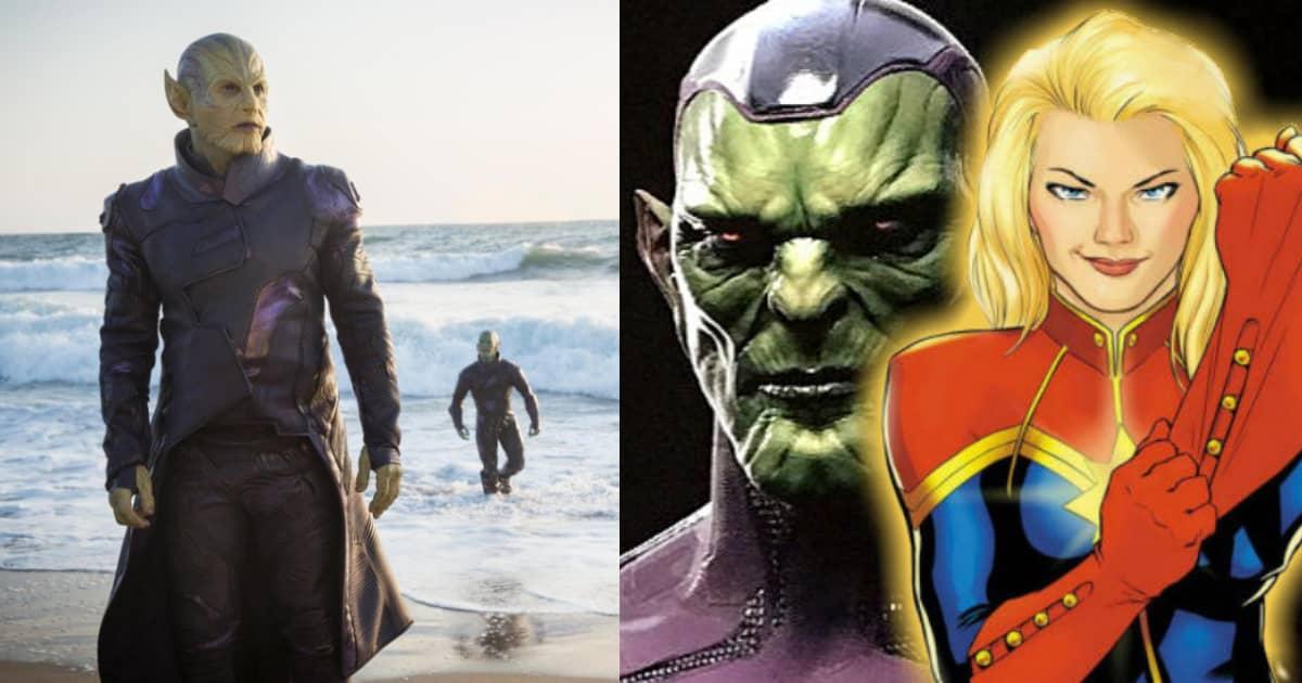 Captain Marvel Ben Mendelsohns Mysterious Villainous Skrull