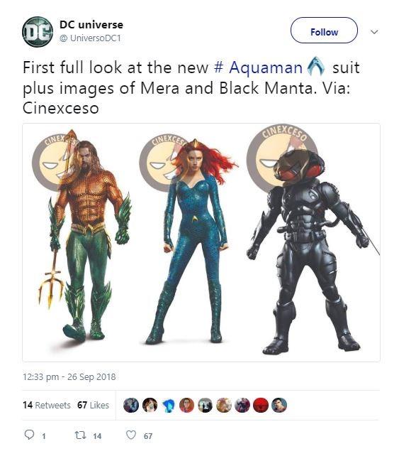 Aquaman Black Manta Mera