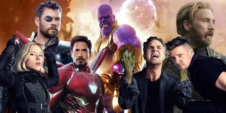 Thor VS Thanos Avengers: Infinity War